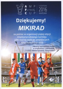AMP FUTBOL CUP 2016